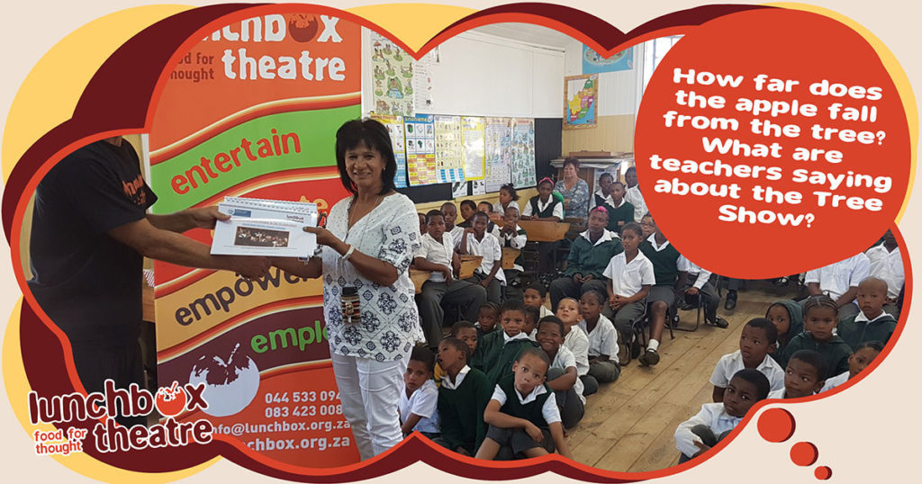Want to know what our South African teachers say about the impact of Lunchbox Theatre's Live Theatre Shows?