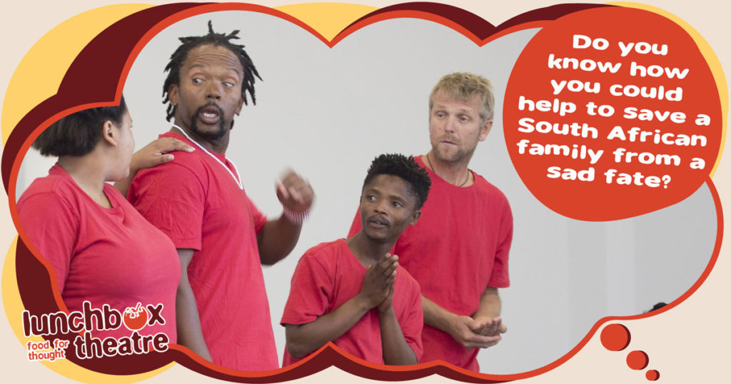 Lunchbox Theatre's Thand' Impilo Show educates youngsters about how to avoid HIV and AIDS and live a healthy lifestyle. You can help us to get the message out there.