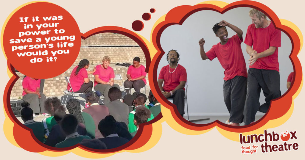Learners share their thoughts on the Thand' Impilo live theatre show for the first time!